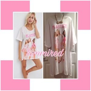 Asos Curve MeaN GiRLS Shirt Dress/Sleep Shirt~US24